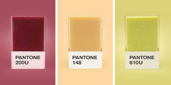 COLORS : Pantone Smoothies