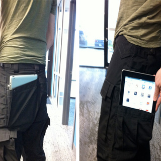 Le pantalon porte-iPad ?