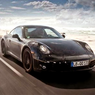New Porsche 911 ! Les premires images&#8230;