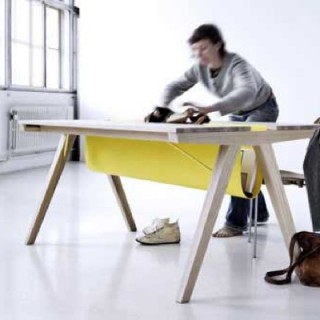 Borrod table… La table rangement !