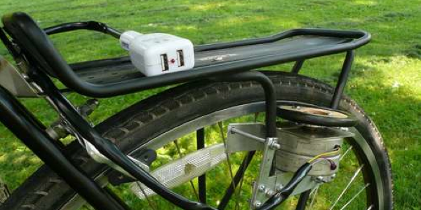 Recharger son gsm à vélo ! Une invention Made in Belgium