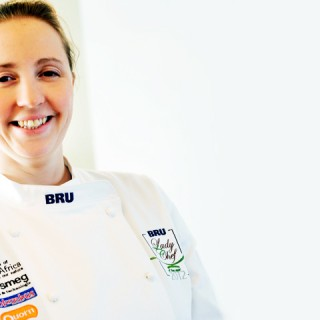 Lisa Calcus est la BRU 'Lady Chef of the Year 2012′