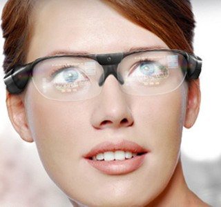 Des lunettes 3D  ralit augmente pour les flics ?