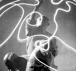Light painting  by Picasso !