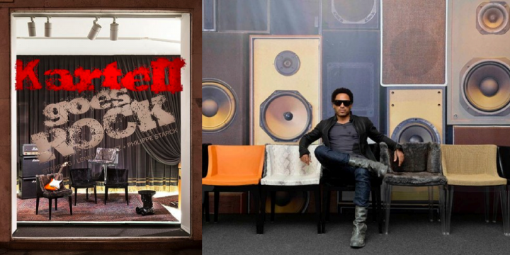 Lenny Kravitz designer pour Kartell ?