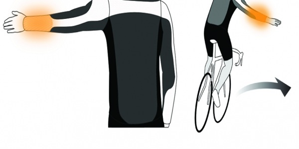 Luminelo : une veste de cycliste lumineuse par Douglas Schaller