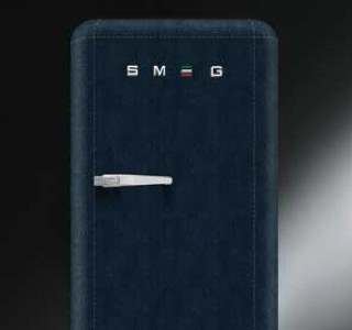 Blue Jeans Fridge by Lapo Elkann