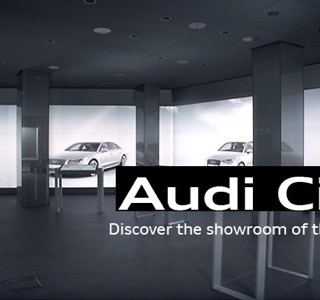 Audi City, le showroom digital de Londres !