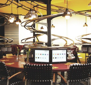 'S Baggers… Le restaurant rollercoaster !
