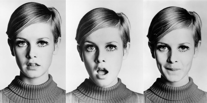 TWIGGY, ICONE DES SIXTEES
