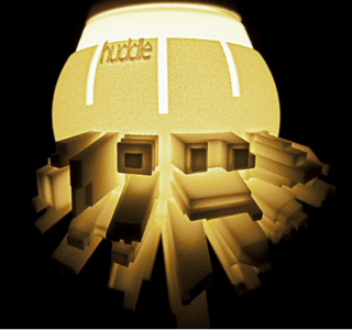 La lampe Huddle par David Grass !