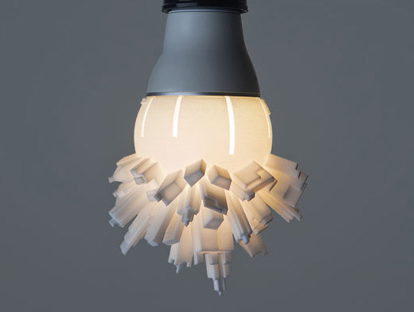 La Lampe Huddle Par David Grass E Tv