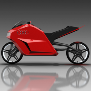 Prototype Audi E-Bike, la moto du futur ?