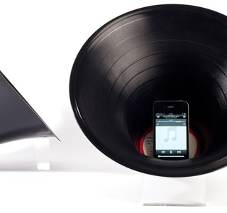 Acoustic iPhone Speaker by Paul Cocksedge