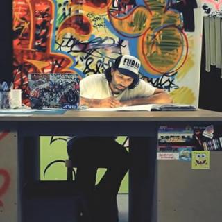 TILT ou l'art du graff en 6 minutes ( VIDEO )