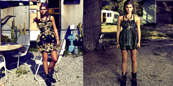Robe chic et boots : osez !