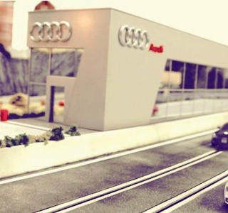 Audi quattro Experience race video