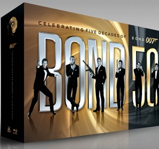 Le coffret James Bond's 50th Anniversary