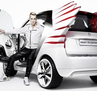 La nouvelle Smart by Jeremy Scott