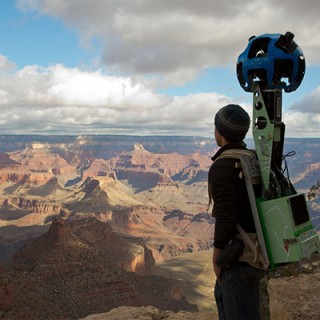Visitez le Grand Canyon avec Google Street View