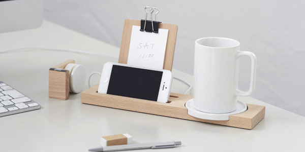 mug tray pour un bureau plus rang e tv. Black Bedroom Furniture Sets. Home Design Ideas