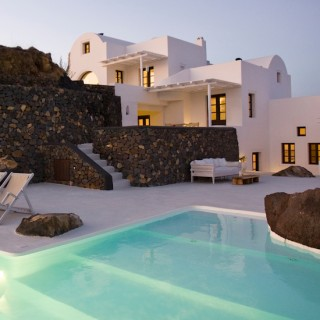 Santorin et lAenaon villas