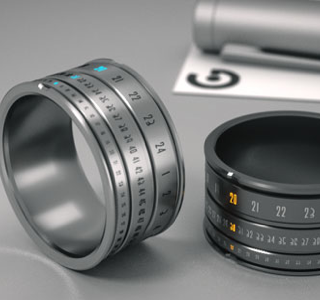 HIGH-TECH: La bague montre