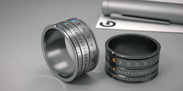 High tech la bague montre
