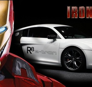 Iron Man reste fidle  Audi !