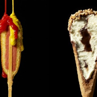 Gastronomie : Cutted food photography