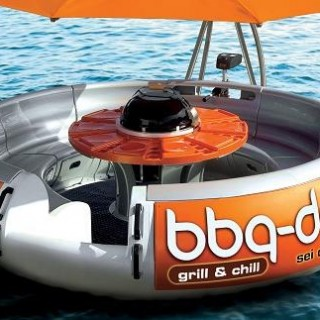Le BBQ Donut Boat!