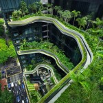 ARCHI : Verdure luxuriante et hotel