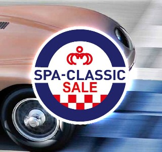 Nouveau cette anne au Spa-Classic: Une vente aux enchres Bonhams.