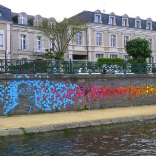 ART – Les graffitis de papier