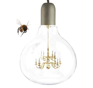 Design: les ampoules mini chandeliers