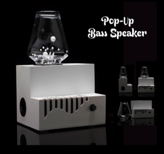 HIGH-TECH : 'Pop-Up Bass,' Animated Subwoofer !