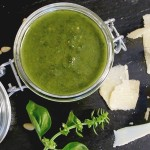 FOOD: Un pesto en 1 minute chrono ( VIDEO ) !