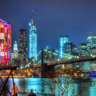 ART : Watertower by Tom Fruin