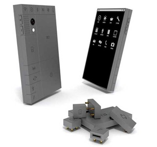 HIGH-TECH : 'Phoneblocks' le téléphone en kit
