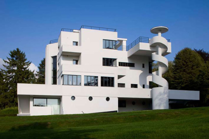 59242 Architecture La Villa Dirickz Un Chateau Des Temps Modernes A Bruxelles on Modern Architecture Homes Floor Plans