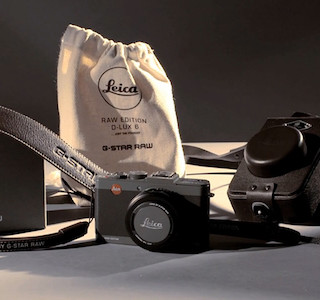 HIGH-TECH : Leica habillé par G-Star