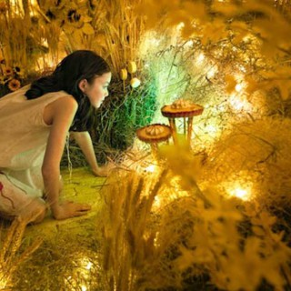 PHOTO : Adrien Broom offre un monde coloré à sa fille