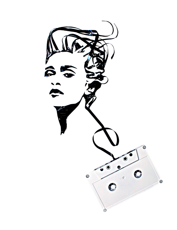 Using-Old-Cassettes-And-Tapes-To-Create-Celebrity-Portraits-3