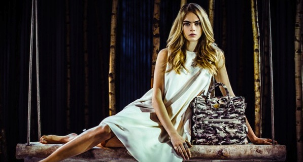 MODE: Mulberry x Cara Delvigne
