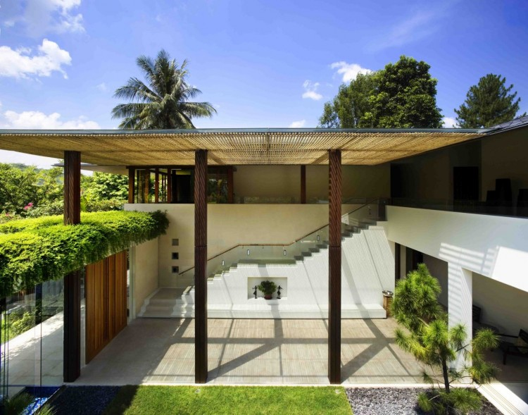Archi tangga house by guz architects e tv - La residence exotique fish house singapour ...