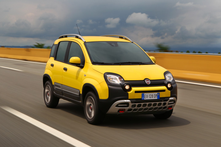 moteur e tv a teste la nouvelle fiat panda cross e tv. Black Bedroom Furniture Sets. Home Design Ideas