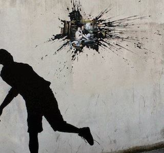 STREET ART : New work by Pejac