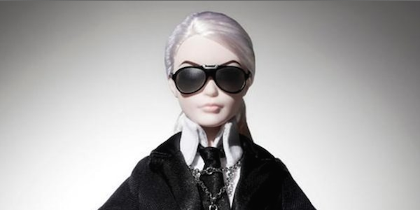 MODE : La Barbie Lagerfeld !