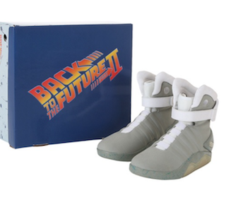 MODE : « Back To the Future » shoes pour 75 €