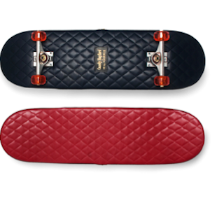 ART / DESIGN : Leather Skateboard Casely Hayford x H